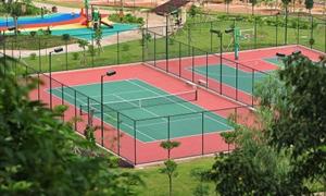 成都网球馆:运动技术学院网球场
