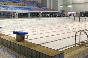 成都游泳馆:交大花园游泳池
